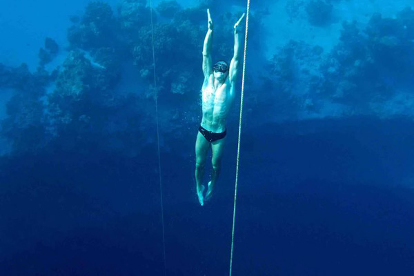 William Trubridge | 'Record du monde de Freediving'