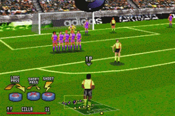 Adidas Power Soccer 97' - Playstation, 15 ans déjà...