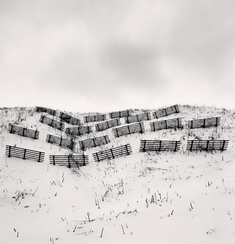 Twenty Fences - Michael Kenna - 'Hokkaido'