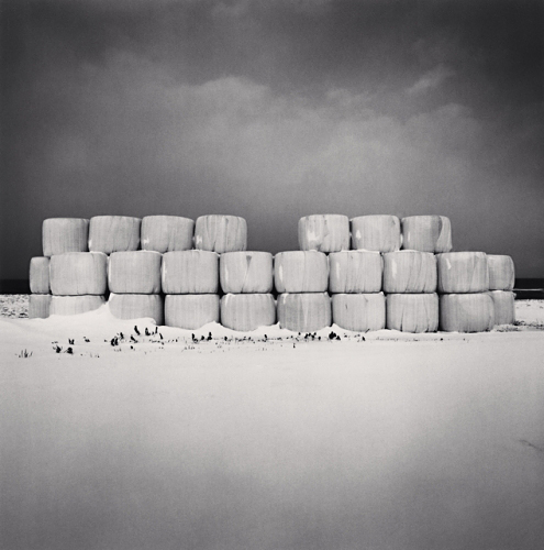 Winter Feed Storage - Michael Kenna - 'Hokkaido'
