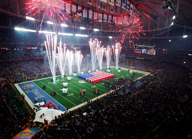 Un Super Bowl en photos