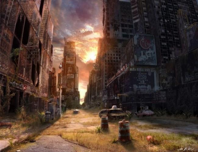 Vladimir Manyuhin - 'Post-Apocalyptic World'