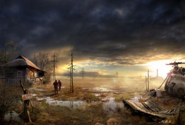 Vladimir Manyuhin - 'Post-Apocalyptic World'