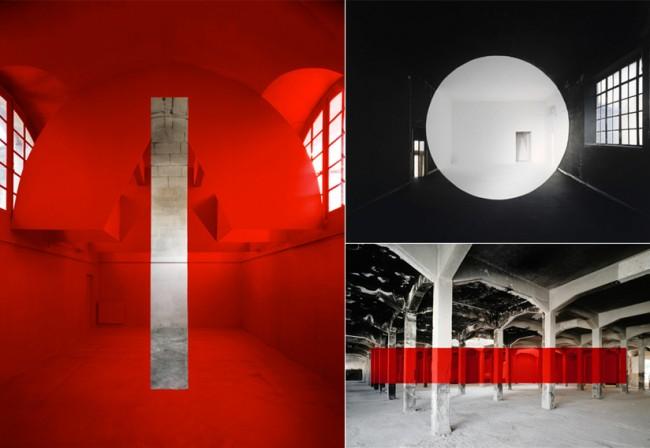 Georges Rousse - 'Réalité & Illusion'