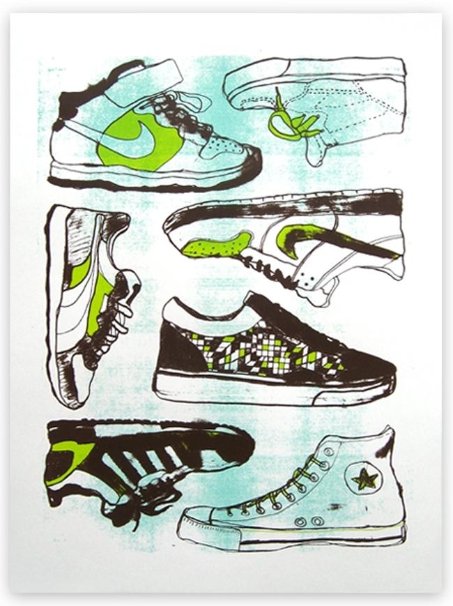 Nate Duval - Sérigraphies d'un artiste coloré