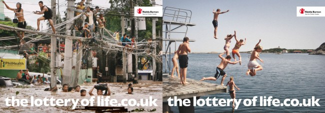 Save the Children - 'The Lottery of Life'