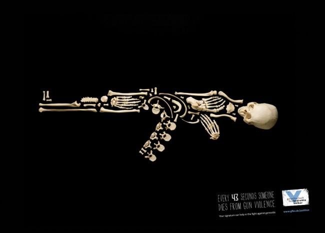 Jung von Matt - 'Every 43 seconds someone dies from gun violence'