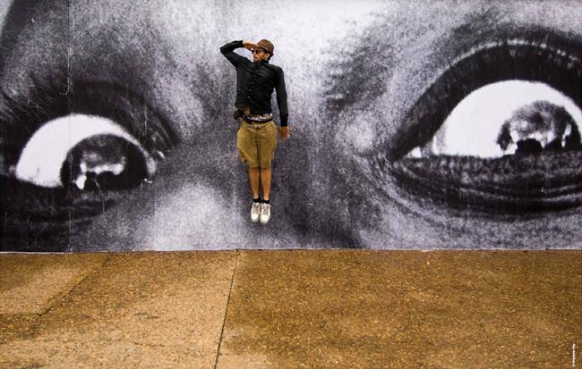 Trois Couleurs - 'JR 2001-2011, une rétrospective'