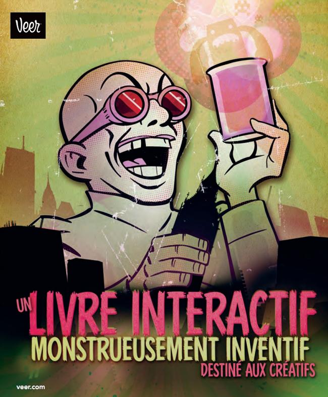 Un Livre Interactif Monstrueusement Inventif pour les Créatifs