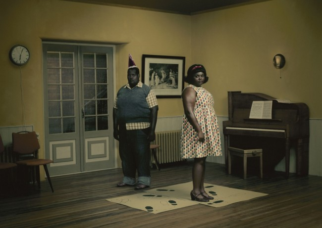 Erwin Olaf - 'Rain - The Dancing School'