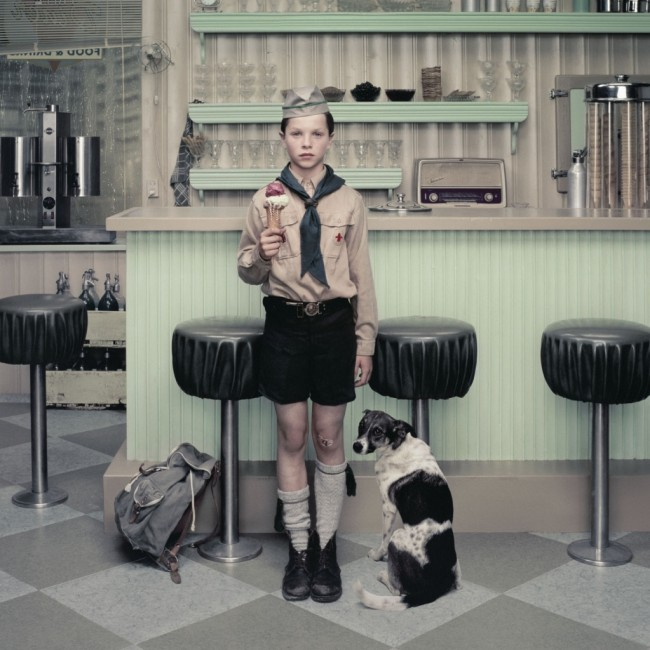 Erwin Olaf - 'Rain - The Ice Cream Parlor'