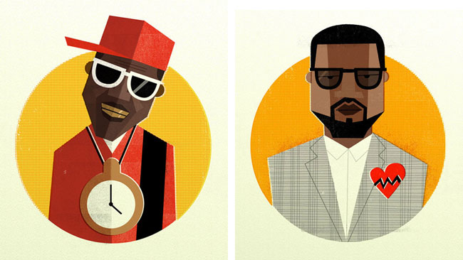 Dale Edwin Murray - 'Hip Hop Head Portraits'